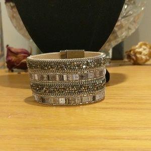 Express jeweled sparkle bracelet nwt